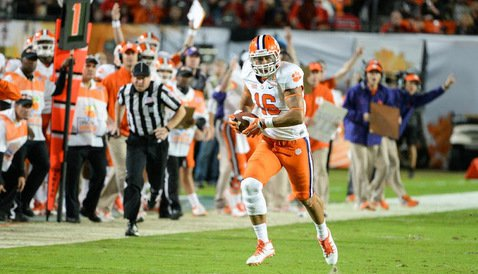 Jordan Leggett is just one of many exciting young players on Clemson's offense