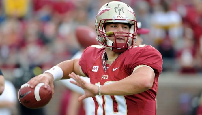Winston's backup is redshirt sophomore Sean Maguire, a dropback passer who has completed 3 passes this season.  (Melina Vastola/USAT)