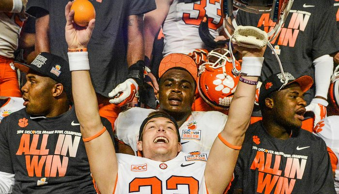 Celebrations like this one might be seen more over the next two or three seasons (Photo by Mark McInnis)