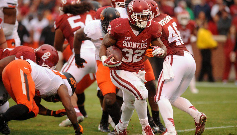 Samaje Perine is one of the nation's best backs (Photo by Mark D. Smith)