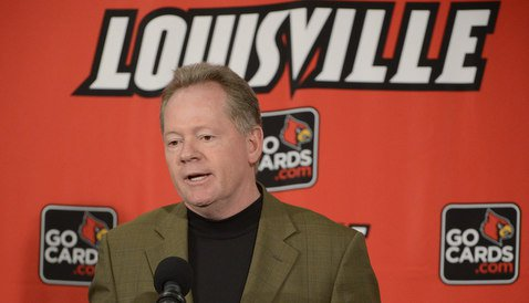 Bobby Petrino doesn't expect Death Valley to be louder than 'Cuse (Photo by Jamie Rhodes)