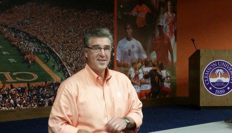 Radakovich talks CFB Playoff, Coach Raises and Facility Upgrades