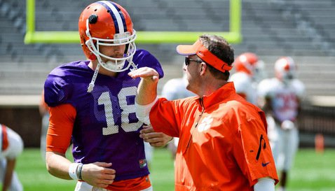 Morris said Saturday's game was about getting Stoudt confidence