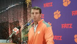 Tuesday from the WestZone: Swinney talks Syracuse, pizza and dancing