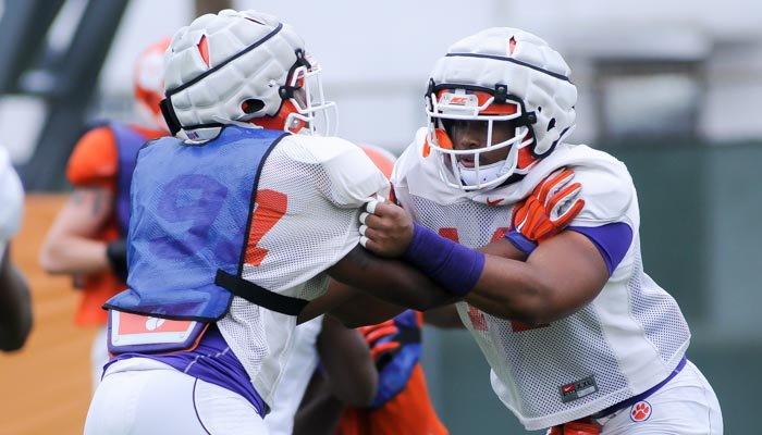 Clemson wrapped up its final practice in pads Friday afternoon.