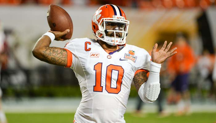 Boyd recorded an ACC-record 107 passing touchdowns during his Clemson career.