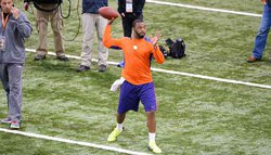 Pro Day: Watkins, Boyd stand out as NFL scouts look on