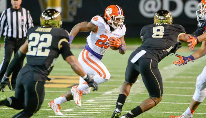 Tyshon Dye could see more action this week
