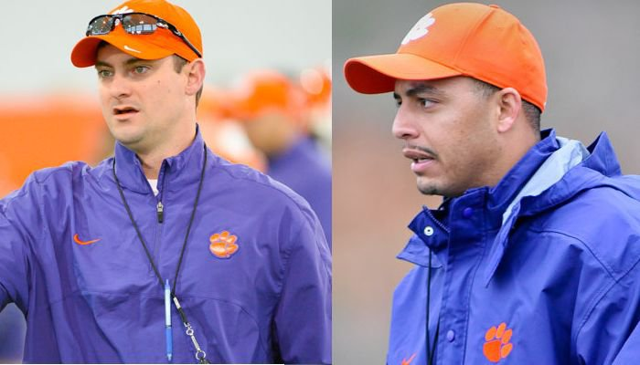 New offensive coordinators Jeff Scott and Tony Elliott