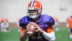 Swinney discusses season-ending injury to Chad Kelly