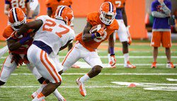 Wednesday's Clemson Football Practice Report