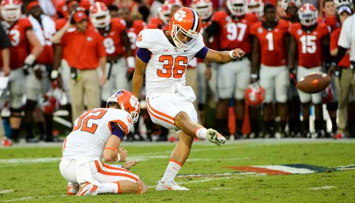 Clemson is 4 for 7 on field goals attempts this year.