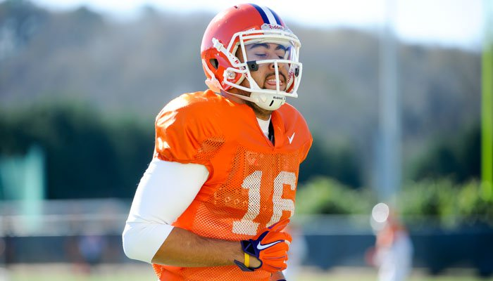 The Tigers are hopeful Jordan Leggett will be able to play against Oklahoma.