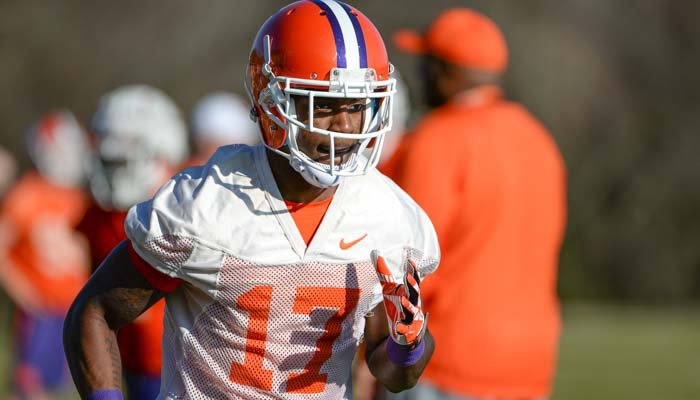 Priester committed to Clemson in 2013, but enrolled at Fork Union and played there for a season before enrolling in Clemson.