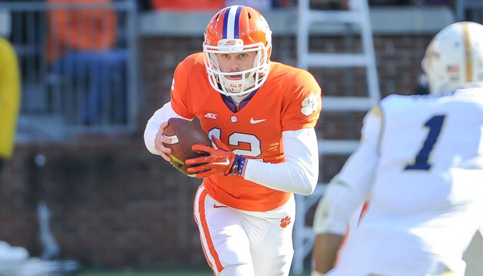 Schuessler was 4-4 for 19 yards in relief of Cole Stoudt.