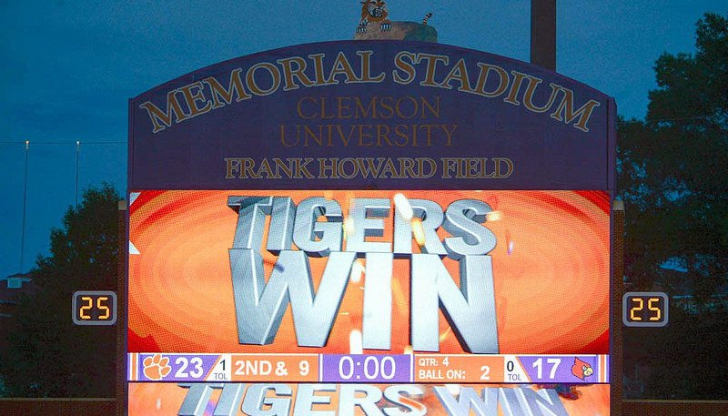 Clemson fans hope to see another win Saturday