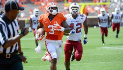 Attrition testing Clemson's depth at wide receiver
