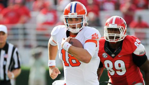Swinney says Stoudt gives Tigers best chance to win in Tallahassee
