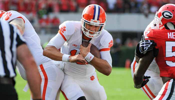 Stoudt completed a Clemson record 19-20 passes for 143 yards and three scores last year against SC State.