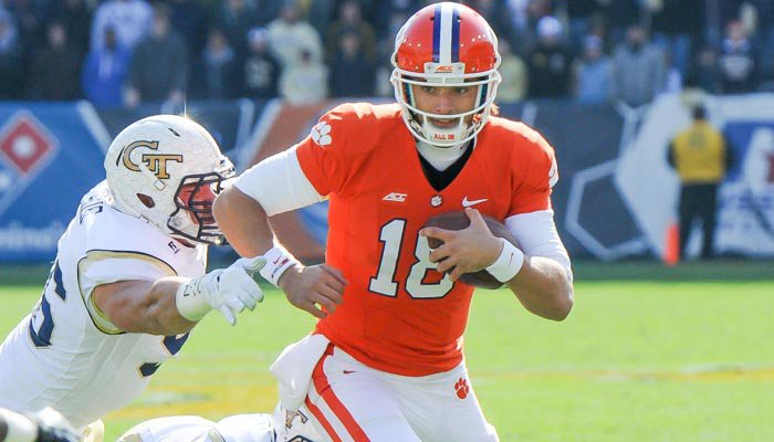 Swinney said the Tigers will try to get Stoudt's confidence back after a train wreck on Saturday.