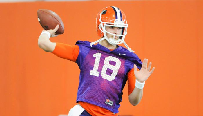 Is it Cole Stoudt's time to shine as the QB at Clemson?