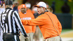 Swinney calls out Clemson fans who would boo Cole Stoudt