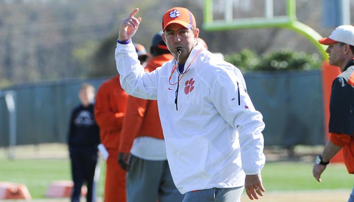 Swinney says open date has come at a good time for the Tigers