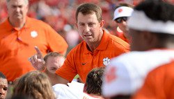 "Swinney on Florida rumors: ""I love Clemson and I love my job"""