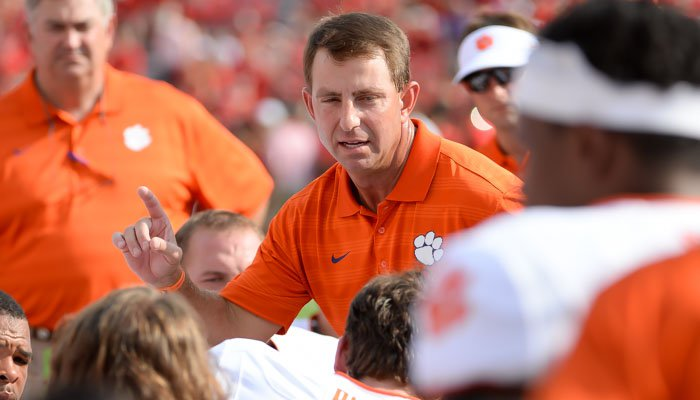 Swinney scoffed at a report that he has interest in Florida.