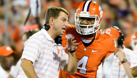 Swinney said Watson may have surgery and miss the bowl.