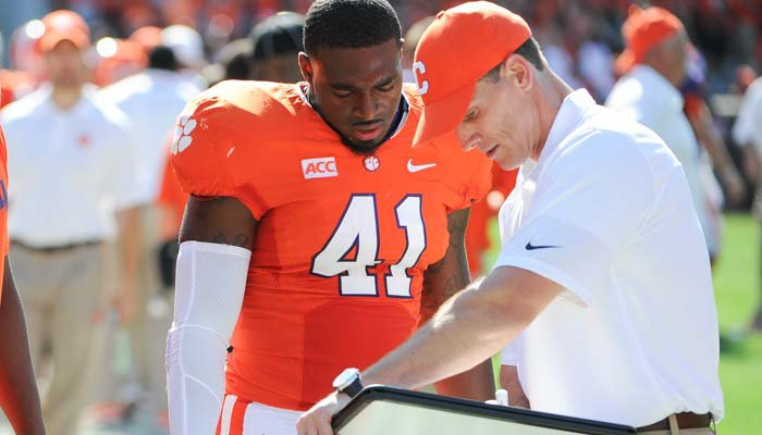 Venables pleased with the effort of the defense Saturday