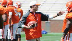 Venables rips defense after lackluster Wednesday practice