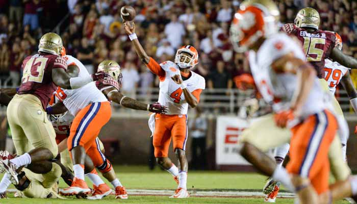 Watson will get his first home start Saturday against UNC