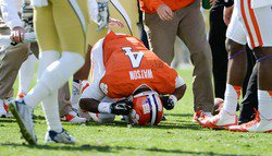 Will coaches run the quarterback less in 2015 to protect Watson? Swinney says no