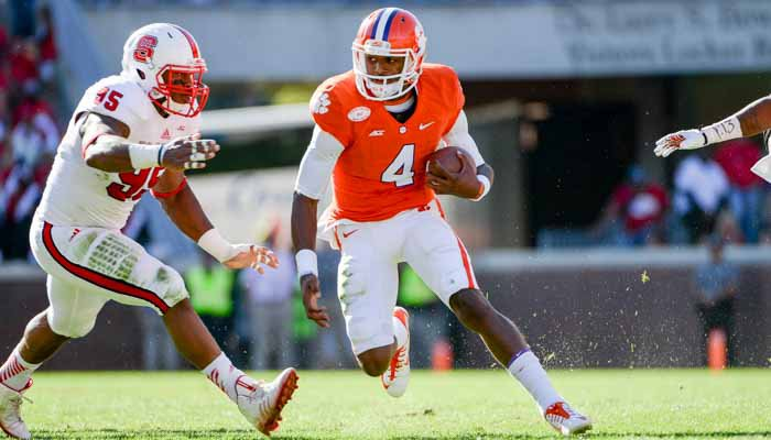 The offense should get better with the return of Deshaun Watson
