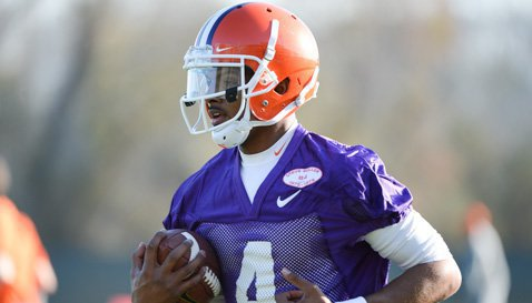 Clemson Holds First Stadium Scrimmage