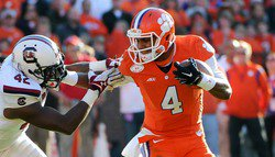 Clemson ranked in Athlon's very early 2015 Top 25