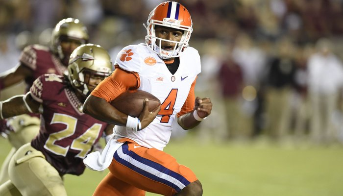 Watson and Tigers face off against Florida St. on October 29th
