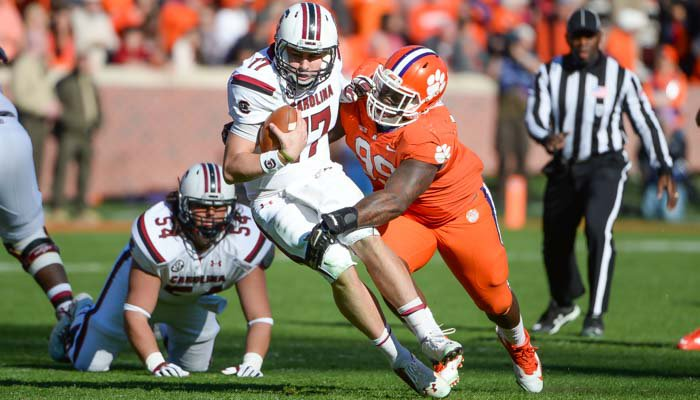Clemson's defense tallied 13 tackles for loss Saturday