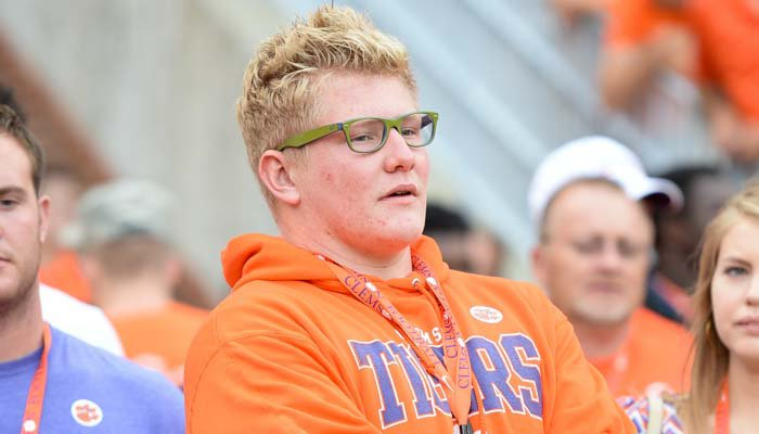 Parker Boudreaux will be back on Clemson's campus this weekend