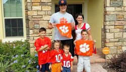 Future Tiger helps lift spirits of young Clemson fan battling for his life
