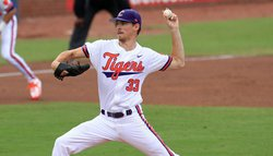 Erwin dazzles as Clemson beats No. 3 Louisville