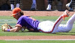 Walks, errors cost Tigers against UNC in ACC Tourney; Tigers await NCAA fate