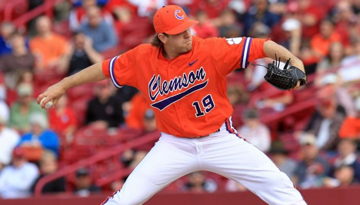 Koerner pitched 116 pitches, 72 for strikes, and didn't allow a South Carolina runner to reach second base until the sixth inning.