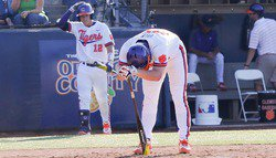 Waves drown Tigers in late-inning surge as Clemson's season ends