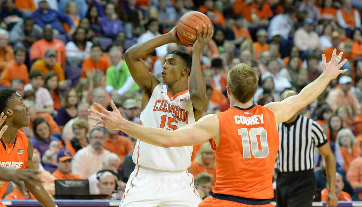 Grantham led Clemson with 16 points