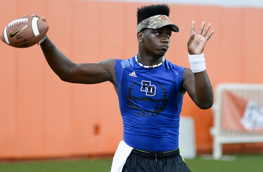 Clemson offers promising in-state QB