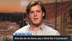 WATCH: ESPN trivia with Clemson's Jim Brown