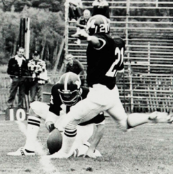 TBT: Jack Leggett playing football for Maine