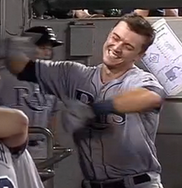WATCH: Richie Shaffer gets silent treatment as he hits his first MLB home run